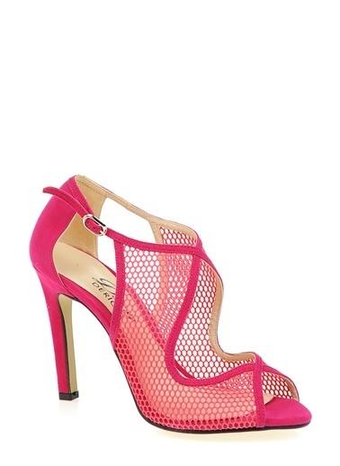 Derigo Topuklu Ayakkabı Fuşya